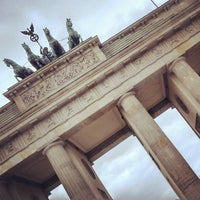 Photo taken at Berlin City Tour – Brandenburger Tor by Dhon G. on 4/27/2013
