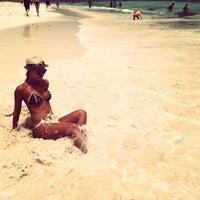 Photo taken at Majestic Beach by Lesya K. on 5/8/2013