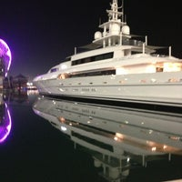 Photo taken at Yas Marina & Yacht Club by Meme on 3/14/2013