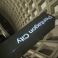 Photo taken at Pentagon City Metro Station by Meme on 1/2/2013