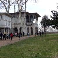 Photo taken at Topkapı Sarayı Zindan Kısmı by Andrey K. on 1/18/2014
