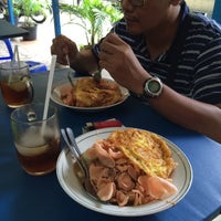 Photo taken at Ketoprak Cobek Pak Yono, Jl. Karang Tengah Raya No.37 by Freddy N. on 12/3/2015