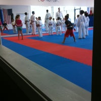 Photo taken at California Shitoryu Karate by Heather F. on 9/24/2013