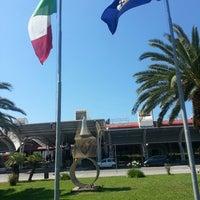 Photo taken at Aeroporto Internazionale di Lamezia Terme (SUF) by Federica V. on 6/19/2013