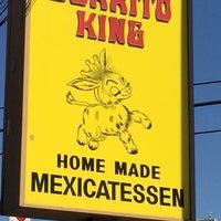 Photo taken at Burrito King by Royer on 10/7/2014