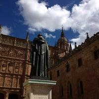 Photo taken at Fachada Universidad by Cristina V. on 4/27/2013