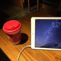 Photo taken at 카페베네 / Caffé bene by Hoya (ChulHo) S. on 3/7/2015