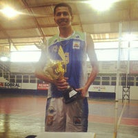 Photo taken at Ginásio de poliesportivo Manoel Silva by Jhonnie T. on 2/18/2013