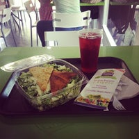 Photo taken at Salad Factory by Domingo C. on 1/15/2014
