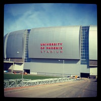 Photo taken at University of Phoenix Stadium by Dave D. on 4/1/2013