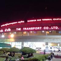 Photo taken at Bangkok Bus Terminal (Chatuchak) by Cyber Explorer 吴. on 7/5/2013