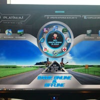 Photo taken at Platinum Internet Cafe & Game Online by Feisal D. on 10/16/2012
