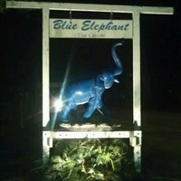 Photo taken at Blue Elephant Thai Cuisine by Mary G. on 2/1/2013