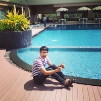 Photo taken at Swimming Pool @Long Beach Cha-am by Nat M. on 8/4/2013
