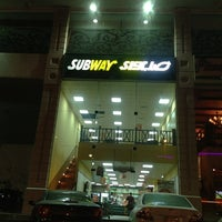 Photo taken at Subway by Ibrahim Abdulwasea on 3/29/2013