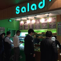Photo taken at Salad+ by Jingwei S. on 3/19/2015