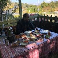 Photo taken at Şirince Şiringöl Kahvaltı Bahçesi by Sabahattin Y. on 10/2/2017
