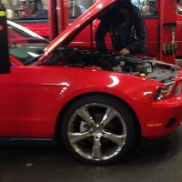 Photo taken at Firestone Complete Auto Care by Ahmad on 1/7/2014