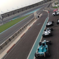 Photo taken at Yas Marina Circuit by Олья on 5/6/2013