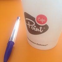 4/15/2014 tarihinde Mahmut G.ziyaretçi tarafından Cafe Point'de çekilen fotoğraf