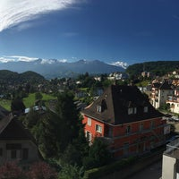 Photo taken at Spiez by Lidia T. on 7/12/2017