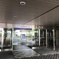 Photo taken at 燕三条地場産業振興センター メッセピア by clickman on 8/1/2017