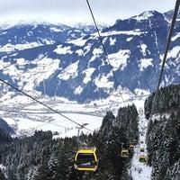 Photo taken at Horbergbahn (630-1656m) by Simon B. on 1/29/2013