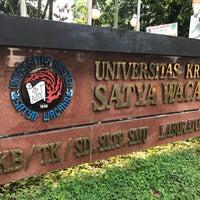 Photo taken at Universitas Kristen Satya Wacana by Monica W. on 7/22/2017