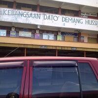 Photo taken at Sek Keb Dato' Demang Hussin by tasya c. on 5/9/2013