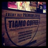 Photo taken at Caffe Tiamo by Edwin G. on 1/20/2015