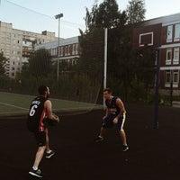 Photo taken at Баскетбольная площадка by Alexey S. on 7/8/2014