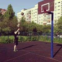 Photo taken at Баскетбольная площадка by Alexey S. on 6/1/2013