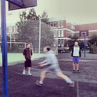 Photo taken at Баскетбольная площадка by Alexey S. on 9/4/2013