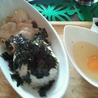 Photo taken at Pousse Cafe by Tomo A. on 10/7/2012