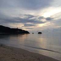 Photo taken at Nai Yang Beach by Ople K. on 10/24/2012