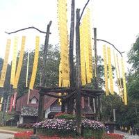 Photo taken at Doi Tung Royal Villa by Ople K. on 12/7/2014