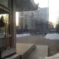 Photo taken at Гимназия №1508 by Мария Р. on 12/21/2012