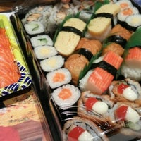 Photo taken at Sushi Kiosk by Andre S. on 5/19/2016