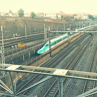 Photo taken at Nippori Station by Naoyuki S. on 1/12/2013