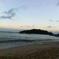Photo taken at Praia do Embrulho by Jana C. on 3/22/2013