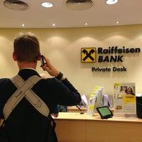 Photo taken at Райффайзенбанк / Raiffeisen Bank by Татьяна П. on 8/10/2013