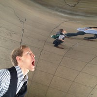 Photo taken at Cloud Gate by Anish Kapoor by Rocky W. on 6/6/2013