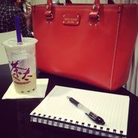 Photo taken at ChaTime (曰出茶太) by Vanessa N. on 3/28/2013