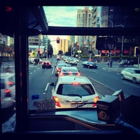Photo taken at Surfers Paradise Northbound Bus Stop by Vanessa N. on 10/29/2012