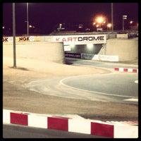 Photo taken at Dubai Autodrome by Abdallah I. on 12/1/2012
