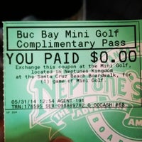 Photo taken at Buccaneer Bay Miniature Golf by Nathaniel F. on 5/31/2014