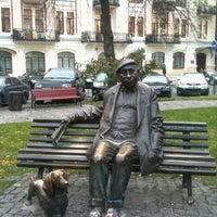 Снимок сделан в Площадь Ивана Франко пользователем Михаил К. 10/29/2012