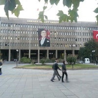 Photo taken at Ankara Courthouse by Okan Ç. on 10/12/2012