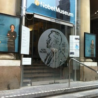 Photo taken at Nobel Museum by Виктория К. on 1/7/2013
