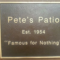 ... Photo Taken At Peteu0026amp;#39;s Patio By Tracy F. On 8 ...